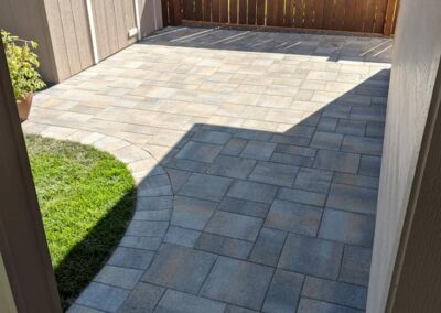 Paver Patios and Pathway